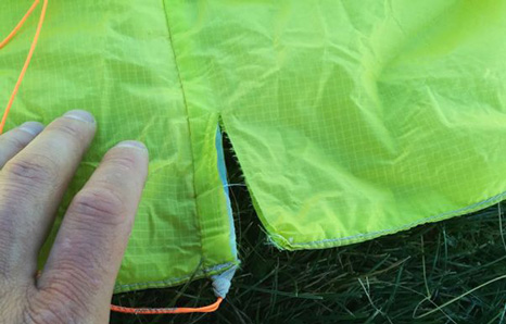 CONTROL ACCIDENTES PARAPENTE
